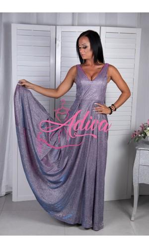 Trblietavé spoločenské šaty Ismea