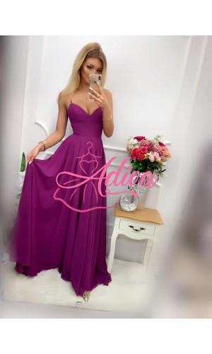 Fialové spoločenské šaty BURGUND