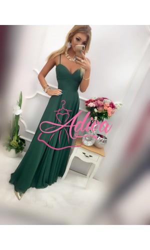 Zelené spoločenské šaty BURGUND