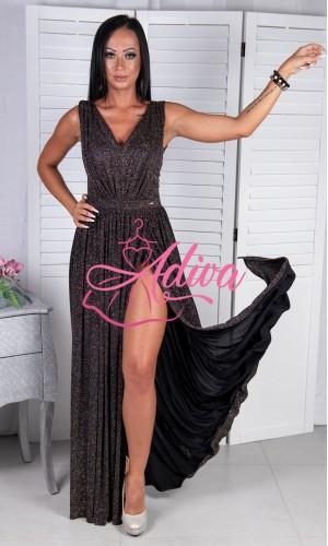 Luxusné trblietavé spoločenské šaty  ELISA