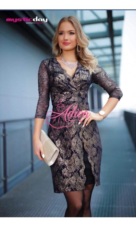 Čipkované krátke šaty Eleonora