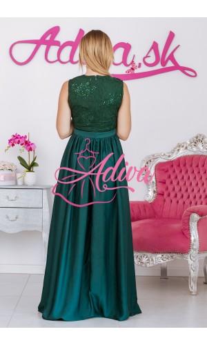Spoločenské šaty zelené NOEMIE
