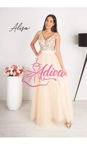 Dlhé spoločenské šaty Alisa