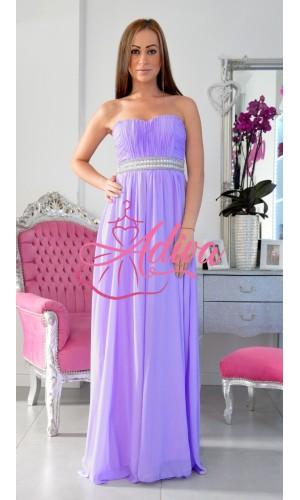 Spoločenské šaty fialové